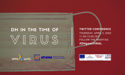 """DH in the time of Virus"" Twitter Conference, 02.04.2020"