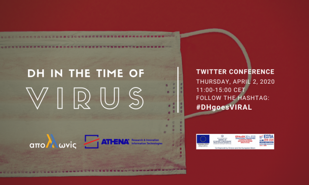 """""""DH in the time of Virus"""" Twitter Conference, 02.04.2020"""